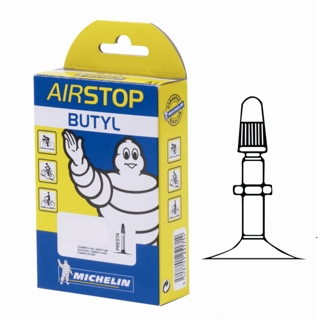 Chambre air airstop butyl 26 1 5 vp michelin for Chambre a air 5 20 13